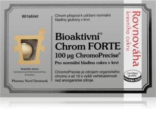 Pharma Nord Bioaktivní chrom Forte doplněk stravy  pro udržení normální hladiny cukru v krvi