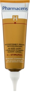 Pharmaceris H-Hair and Scalp H-Stimupeel peeling anticaspa e antiqueda de cabelo