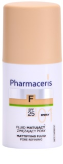 Pharmaceris F-Fluid Foundation Make-up lichid matifiant SPF 25