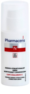 Pharmaceris N-Neocapillaries Capi-Hyaluron-C Anti-Wrinkle Cream Restoring Skin Density for Sensitive, Redness-Prone Skin