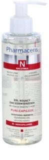 Pharmaceris N-Neocapillaries Puri-Capilium заспокоюючий очищуючий гель для чутливої шкіри та шкіри схильної до почервонінь