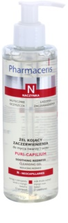 Pharmaceris N-Neocapillaries Puri-Capilium gel nettoyant apaisant pour peaux sensibles et rougies