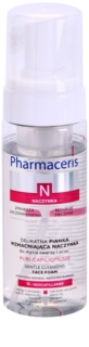 Pharmaceris N-Neocapillaries Puri-Capiliqmousse Cleansing Makeup Removing Foam to Widespread and Bursting Veins