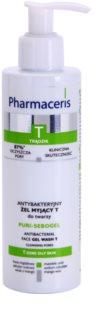Pharmaceris T-Zone Oily Skin Puri-Sebogel τζελ καθαρισμού για προβληματική επιδερμίδα, ακμή
