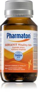 Pharmaton Geriavit Vitality 50+ doplněk stravy pro udržení vitality, fyzické i psychické pohody