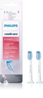 Philips Sonicare Sensitive Standard HX6052/07 Replacement Heads For Toothbrush Ultra Soft