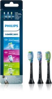 Philips Sonicare Premium Combination Standard HX9073/33 têtes de remplacement pour brosse à dents