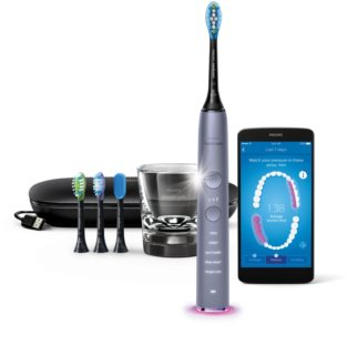 Philips Sonicare DiamondClean Smart HX9924/47 escova de dentes elétrica sónica com um copo de carregamento