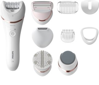 Philips Epilator Series 8000 BRE740/10 Wet & Dry Epilierer für Damen