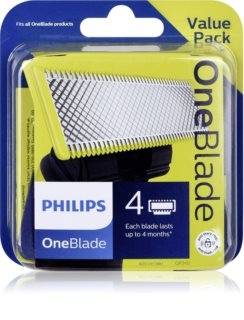 Philips OneBlade QP240/50 recarga de lâminas 4 pçs