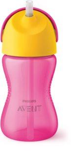 Philips Avent Cup with Straw чашка з гнучкою трубочкою 12+ Girl