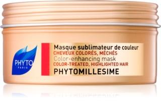 Phyto Phytomillesime maseczka  do włosów farbowanych i po balejażu