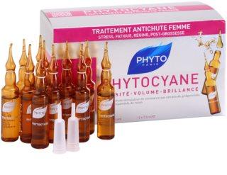 Phyto Phytocyane оздоравливающая сыворотка против выпадения волос