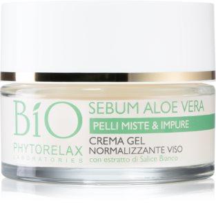 Phytorelax Laboratories Bio Sebum Aloe Vera хидратиращ гел крем за редукция на мазнината на кожа