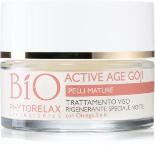Phytorelax Laboratories Bio Active Age Goji crema notte con effetto anti-age di bacche di goji