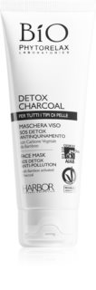Phytorelax Laboratories Bio Detox Charcoal Cleansing Detoxifying Activated Carbon Mask