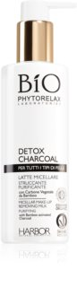 Phytorelax Laboratories Bio Detox Charcoal Micellar Milk Makeup Remover with activated charcoal