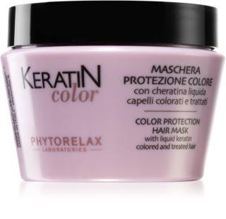 Phytorelax Laboratories Keratin Color maschera per capelli con cheratina