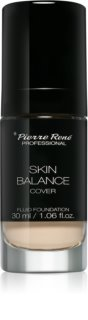 Pierre René Skin Balance Cover Waterproef Vloeibare Make-up
