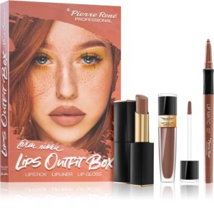 Pierre René Lips Outfit Box coffret cadeau lèvres