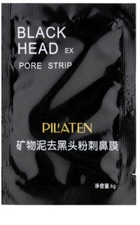 Pilaten Black Head maschera nera peel-off