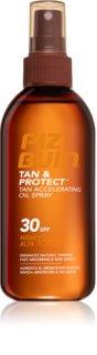 Piz Buin Tan&Protect huile protectrice accélérateur de bronzage SPF 30