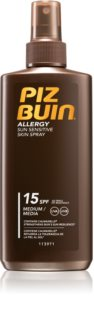 Piz Buin Allergy napvédő spray SPF 15