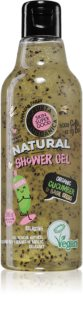 Planeta Organica Organic Cucumber & Basil Seeds Relaxing Shower Gel