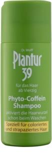 Plantur 39 champô de cafeína para cabelo danificado e pintado