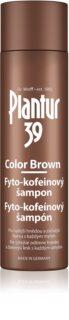Plantur 39 Color Brown кофеїновий шампунь для волосся коричневих відтінків