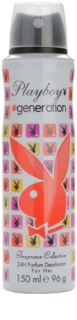 Playboy Generation deospray da donna