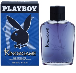 Playboy King Of The Game eau de toilette pentru bărbați
