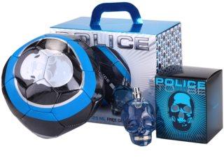 Police To Be Geschenkset I. für Herren