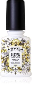 Poo-Pourri Before You Go Toilettenspray gegen Geruch Original Citrus