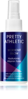 Pretty Athletic Workout Glow lotion tonique rafraîchissante et purifiante