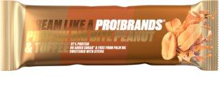 PRO!BRANDS Protein Big Bite karamelovo-oříšková proteinová tyčinka