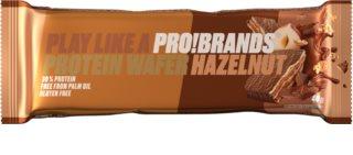 PRO!BRANDS Protein Wafer čokoláda/ořech proteinový oplatek