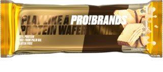 PRO!BRANDS Protein Wafer vanilka proteinový oplatek