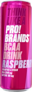 PRO!BRANDS BCAA Drink malina hotový nápoj s aminokyselinami