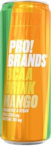 PRO!BRANDS BCAA Drink mango hotový nápoj s aminokyselinami