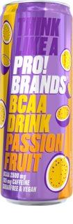 PRO!BRANDS BCAA Drink passion fruit hotový nápoj s aminokyselinami