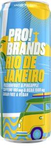 PRO!BRANDS BCAA Drink Rio de Janeiro - passion fruit/ananas hotový nápoj s aminokyselinami