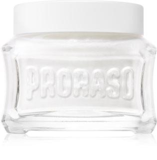 Proraso White Pre-Shaving Cream for Sensitive Skin