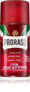 Proraso Red Shaving Foam with Nourishing Effect