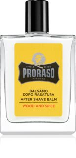 Proraso Wood and Spice bálsamo hidratante after shave
