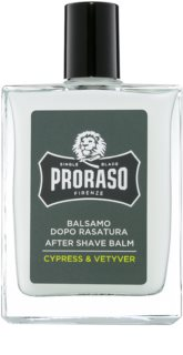 Proraso Cypress & Vetyver hidratantni balzam nakon brijanja hranjiva tekstura