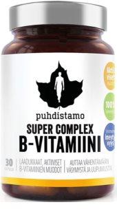 Puhdistamo Super Vitamin B Complex komplex vitamínu B