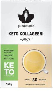 Puhdistamo Keto Collagen + MCT Premium kloubní výživa