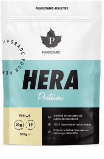 Puhdistamo HERA Protein syrovátkový protein v prášku příchuť vanilla