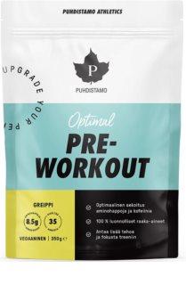 Puhdistamo Pre-Workout + Caffeine podpora sportovního výkonu s kofeinem příchuť grapefruit